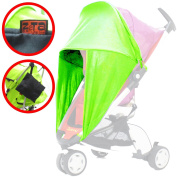 iSafe Sunny Sail - Lime Universal Fit For Hauck Roma Stroller