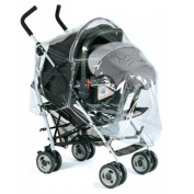 garessi 9010 - Bubble Rain Cover for Buggy, Navy Blue
