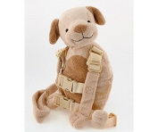 Goldbug Harness Buddy Puppy Backpack 0.9m Kids Safety Toddler Reins Walking Fun by Goldbug