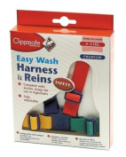 Clippasafe Easy Wash Harness & Reins Multicolour