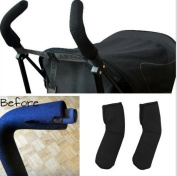 Efbock Stroller Handle Covers for Umbrella Type Stroller Models - Stretchable Universal Fit 2pair