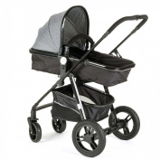 Baby Vivo Stroller and Buggy 2in1 combination - Grey