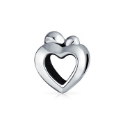 Bling Jewellery 925 Silver Mother Child Family Bead Charm Fits Pandora