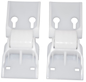 Beko CF1100APW, CF1300APW, CF374W, cf380 and cf381 Chest Freezer Counterbalance Hinge- Pack of 2 By Ufixt®