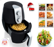 Air Fryer Deep Fat Free Frying Healthy No Oil Black Kitchen Cooker 1400W Legend