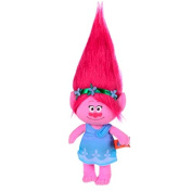Trolls - Plush toy princess Poppy 25 cm, pink hair