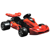 Toyrific Red Ride On Electric Go Kart Racing Car 12v Battery Age 3-8 Years New Model For Xmas 2016