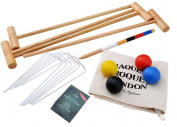 Croquet Set - Tonbridge - In Drawstring Bag - Jaques of London