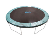 Upper Bounce Unisex Ubpad-S G Super Trampoline Safety Pad, Green, 4m