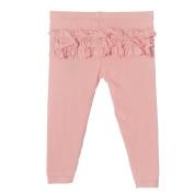 KicKee Pants Little Girls Ruffle Legging, Blush, 18-24 Months