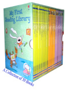 Usborne My First Reading Library 50 books box set.