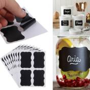 36Pcs Labels Tags, Northbear Chalkboard Blackboard Stickers Craft Kitchen Jar Labels Tags