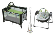 Graco Pack 'N Play On the Go Playard with Baby Swing and Jumper