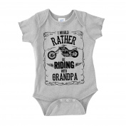 I'd Rather Be Riding With Grandpa Baby One Piece