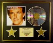 DAVID ESSEX/CD DISPLAY/ LIMITED EDITION/COA/GREATEST HITS