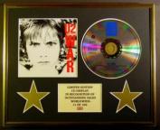U2/CD DISPLAY/LIMITED EDITION/COA/WAR