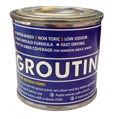 Black Tile Grout Paint ideal to refurbish tile grout leaving a clean fresh look in bathrooms and kitchens