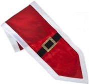 Santa Suit Design Table Runner Party Tableware Decorations Christmas Celebration Xmas