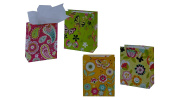 Flomo 12PC Medium Butterfly Gardens All Occasion Gift Bag