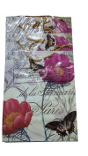 Flomo 12PC Floral Butterfly Gift Bag