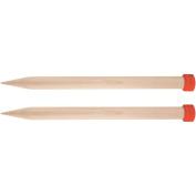 """Basix Single Pointed Needles 14""""-Size 30mm"""
