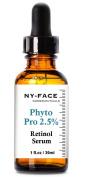 NY FACE's Phyto Pro 2.5% Retinol Serum - Best Anti Wrinkle, Anti Ageing Serum for Face & Sensitive Skin