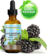 BLACK RASPBERRY SEED OIL 100% Pure / Natural / Virgin. Cold Pressed / Undiluted. For Face, Hair and Body. 4 Fl.oz.- 120 ml