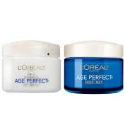 L'Oreal Paris Skin Care Age Perfect Anti-Sagging Day Plus Night Cream Kit, 150ml