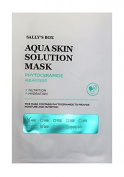 Aqua Skin Solution Mask - Phytoceramide - Nutrition & Hydration - 10 Masks in Total