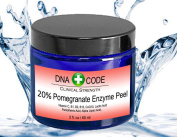 DNA Code-20% Pomegranate Enzyme Peel 60ml-Enhanced w/ Vita.C, B1, B12, CoQ10, Lactic acid.