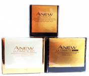 AVON Anew Ultimate Multi-Performance : Day Cream + Night Cream + Eye System SET !