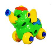 Disassembly Elephant, Misaky Car Design Educational toys for children Christmas Gift
