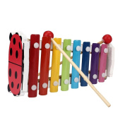 Baby Musical Toys, Misaky Kid 8-Note Xylophone Wisdom Development Wooden