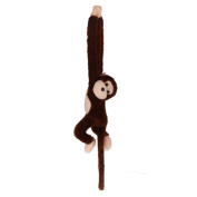 Plush Toy Monkey, Misaky Cute Doll Gibbons Kids Gift