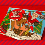 Novelty Gift Colour That Porno Christmas Colouring Edition