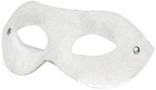 Ouch! Leather Blindfold White