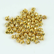 Dealglad New 100pcs Jingle Small Bells Christmas Xmas Wedding Decoration Beads Jewellery Findings Charms