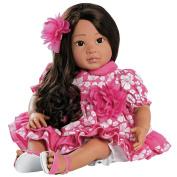 Paradise Galleries Realistic Doll, Hawaiian Hula Girl Doll Lei Aloha - 50cm GentleTouch Vinyl by Ping Lau
