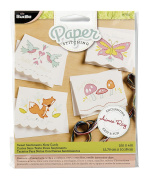 Bucilla Paper Stitching Note Cards, 47652 Sweet Sentiments