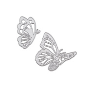 We-buys Flying Butterfly Curves Cutting Dies Carbon Steel Stencil Metal DIY Template