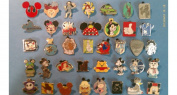 Disney Trading Pins-Lot of 25-No Duplicates-LE-HM-Rack-Cast-.