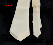 10 PACK of PRE-CUT 100% wool medium weight necktie interfacing / interlinging W14/13-33TH AC Ter Kuile, finest available, made in Netherlands (5 SIZES AVAILABLE)