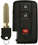 KeylessOption Keyless Entry Remote Control Car Key Fob Replacement for Prius MOZB21TG