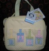 GERBER YELLOW NUETRAL COOLER BAG INSULATED BABY