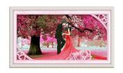 The new 5d diamond stitch painting the living room full of cherry trees wedding diamond round diamond diy,14065-fullofstickers