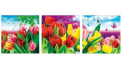 Embroidered 5D new diamond drill full diamond wedding diamonds Cube painting bright flowers,120*40cm