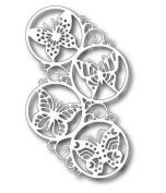 Tutti Designs Swirly Butterfly Circles Cutting Die TUTTI-186