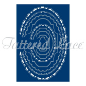 Tattered Lace Card Shapes Ovals - 9 Die Set - Make Your Own Shaped Card Blanks