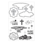 Art-C Clear Stamp & Die Combo Set, Faith