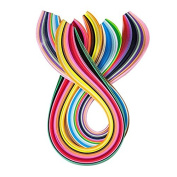 DIY Home Party Decor Paper Craft Art Quilling 360 Strips 36 Colours 540mm Length 3/5/7/10mm Width Available